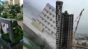 Cyclone Fani Shatters - Odisha. Properties damaged by Cyclone Fani