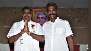 Makkal Neethi Maiam Sulur Candidate Myilsamy
